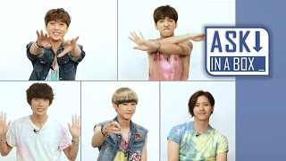 ASK IN A BOX Special: B1A4(비원에이포) _ Sit-Down Dancing(제자리 댄스) Ver. 'SOLO DAY(솔로데이)' [ENG SUB]
