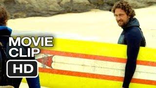 Chasing Mavericks Movie CLIP - Conveyor Belt (2012) - Gerard Butler Movie HD