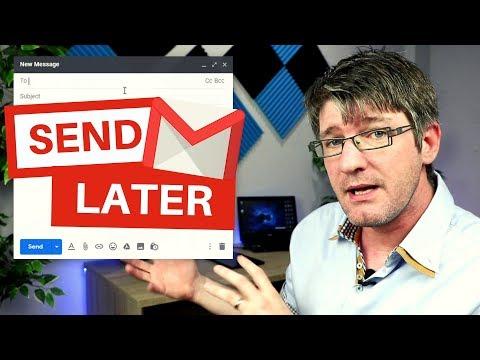 Schedule Emails in GMail (Big Update)