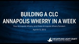 Building A Clc Annapolis Wherry Kit - Hd 1080p