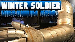 Winter Soldier | Wakanda Arm Build | Cosplay