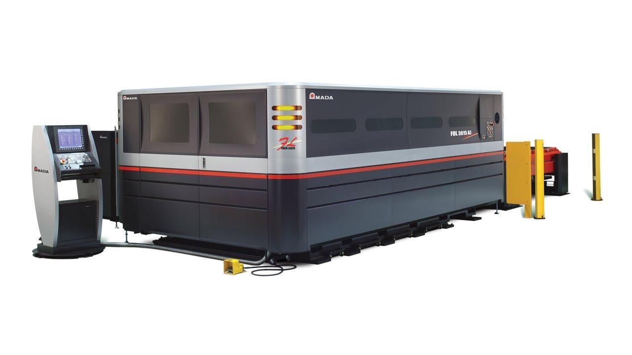 Fol 3015 Aj Fiber Laser Cutting System Youtube