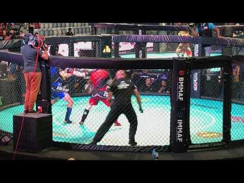 Niko Skonbäck, Finland vs Axel Sola, France. MMA World Championships 2017