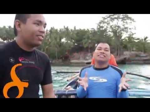 """Sports segment.Scuba Diving.09.21.14""""Mag Suroy- Suroy ta sa CARAGA"""""""