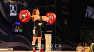 17 year old Rebekah Tiler winning 3 bronze medals at SENIOR Europeans!