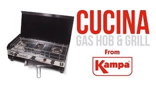 Kampa | Cucina Gas Hob & Grill | Product Overview