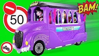 10 000 рублей на ТРАНСПОРТ куклы Монстер Хай ! МАШИНЫ и СКУТЕРЫ куклы Monster High dolls collection
