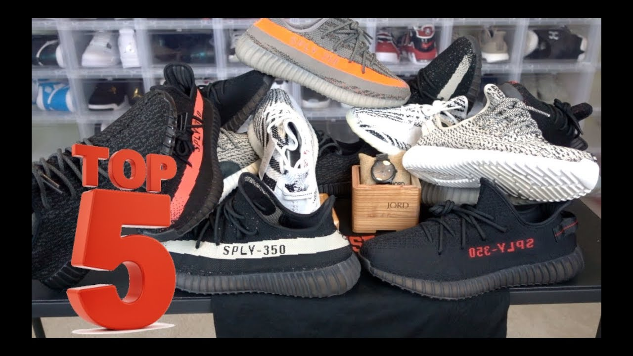 3e7189840 MY TOP 5 ADIDAS YEEZY SHOES IN MY SNEAKER COLLECTION - YouTube