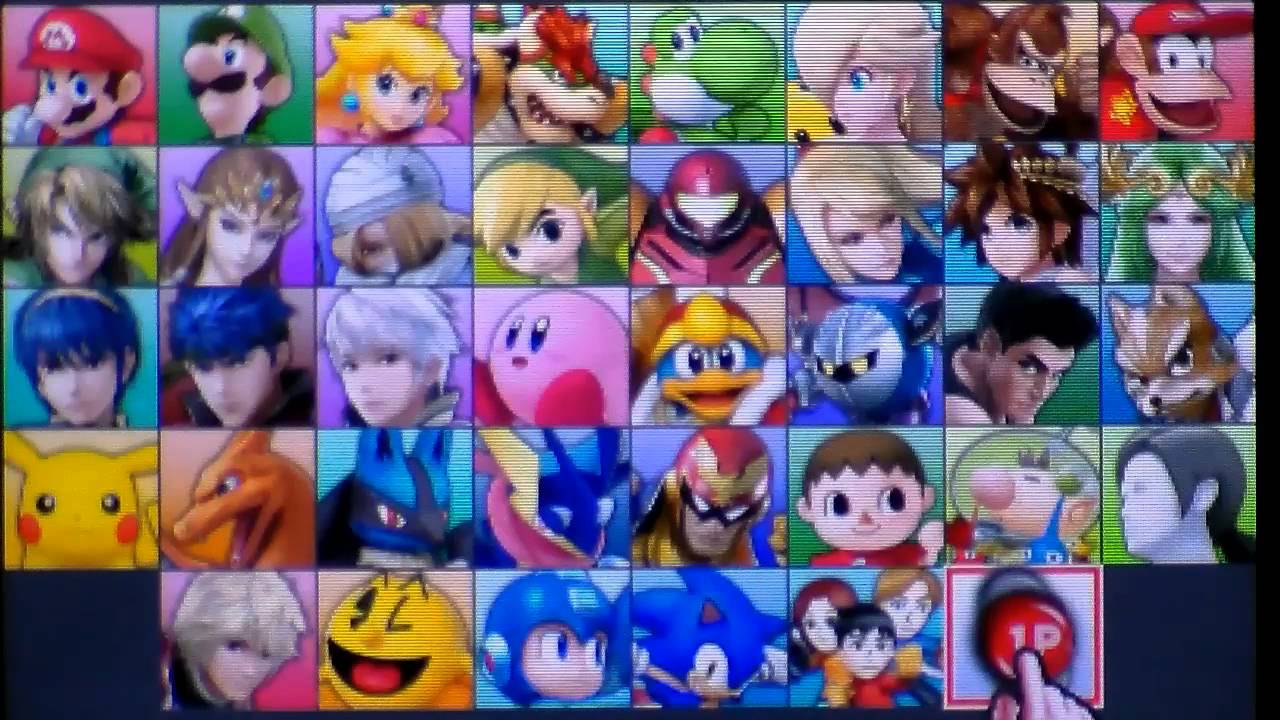 How To Unlock All Characters In Super Smash Bros 3DS