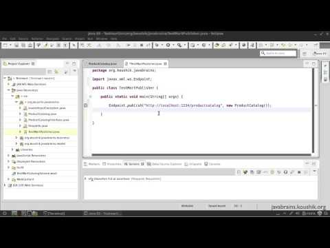 SOAP Web Services 19  Using Endpoint