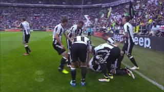 Il gol di Evra - Juventus-Sampdoria-5-0 - Giornata 38 - Serie A TIM 2015/16