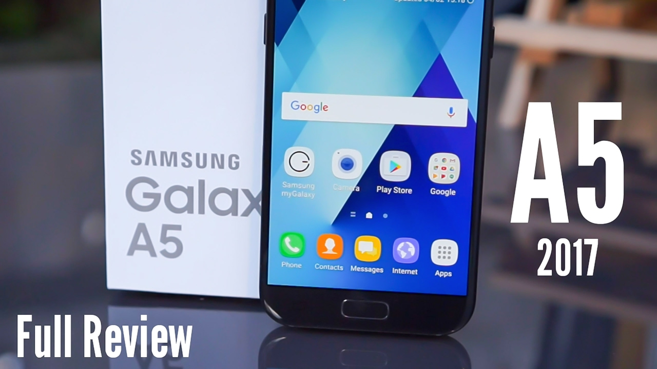 samsung galaxy a5 2017 full review the real test youtube. Black Bedroom Furniture Sets. Home Design Ideas