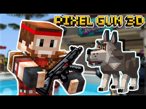 MY FIRST EVER EXPERIENCE PLAY!! Pixel Gun 3D