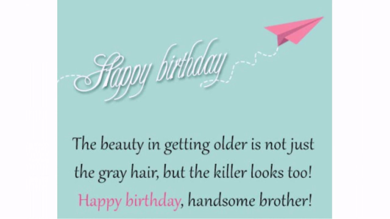 The 60 Happy Birthday Big Brother | WishesGreeting