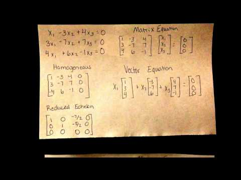 Trivial and Nontrivial solutions