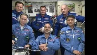 Expedition 48 49 Crew Welcomed to the Space Station