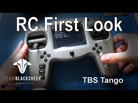 Thumbnail: RC First Look: TBS Tango Radio Transmitter and FPV Reciever