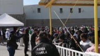 Mexico to close improvised migrant shelter
