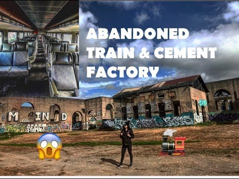 American Canyon Cement Factory & ABANDONED Train!!