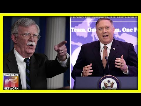 The LOOK On Mike Pompeo's Face After Bolton's Ouster Tells You EVERYTHING You Need To Know