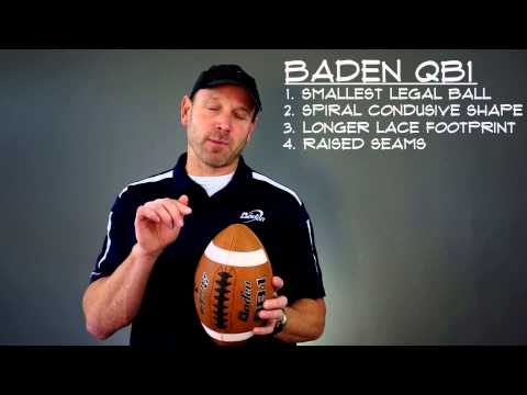 New Features for the Baden QB1 Football