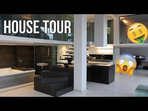 MY CRAZY HOUSE TOUR!! + GUCCI AND BALENCIAGA SHOPPING SPREE!!!