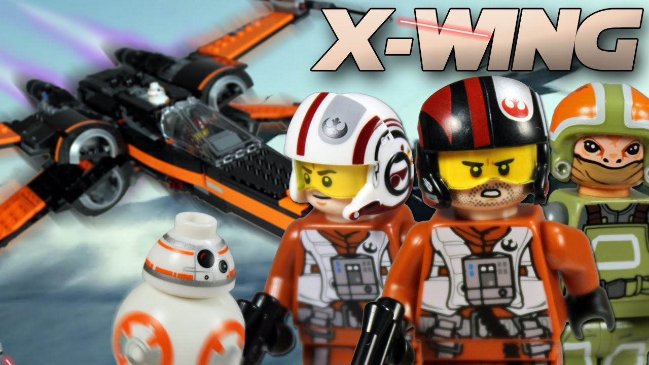 Lego star wars poe s x wing fighter review 75102 youtube - Lego Star Wars 75102 Poe S X Wing Fighter Review