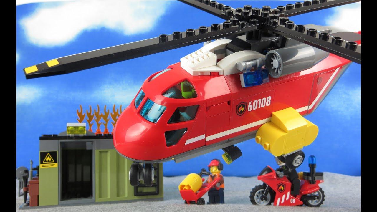 LEGO Feuerwehr deutsch: 60108 City Feuerwehr-Löscheinheit ...