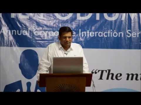 Interaction 8 of The Podium Season 3 - Mr.  Arun Khetan