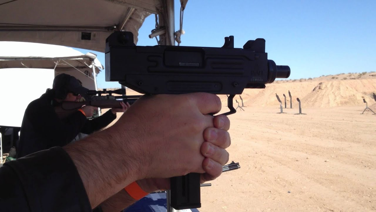 Shooting the new Umarex IMI  22 Caliber Uzi