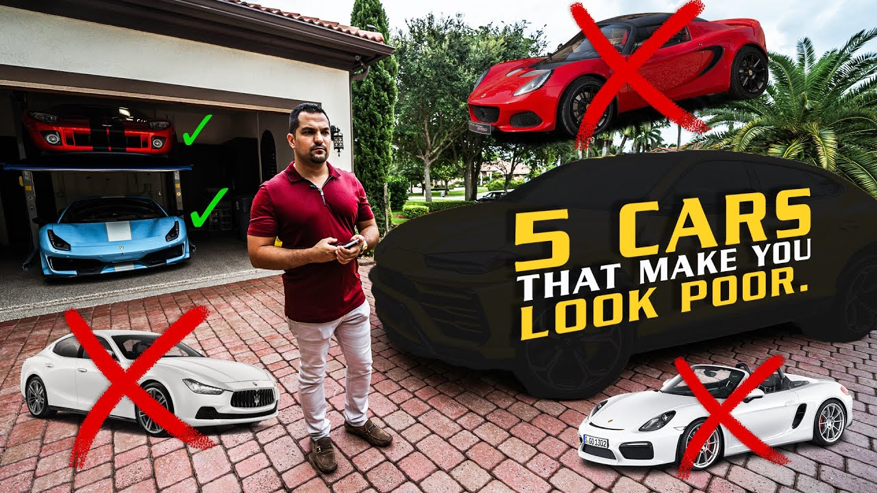"""The Top 5 """"Exotic Cars"""" That Make You Look Poor *UNCENSORED*"""