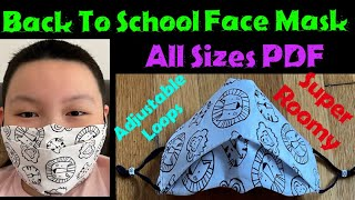 294 How To Make The Most Breathable Face Mask For The Whole Family DIY Back To School Face Mask