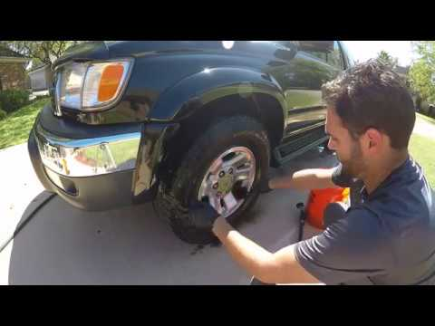 Basic rim and tire cleaning