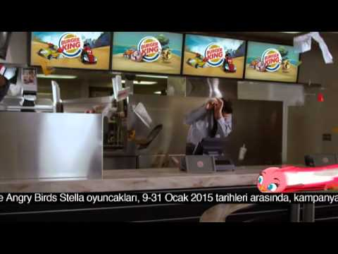 Burger King® – Angry Birds Go & Angry Birds Stella
