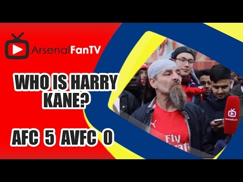 Who Is Harry Kane?? - Arsenal 5 Aston Villa 0