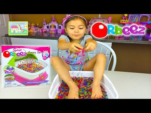 ORBEEZ LUXURY SPA 2,200 Magic Orbeez Magically Grow in Water Tiny to Big! Kid-Friendly Toy Opening
