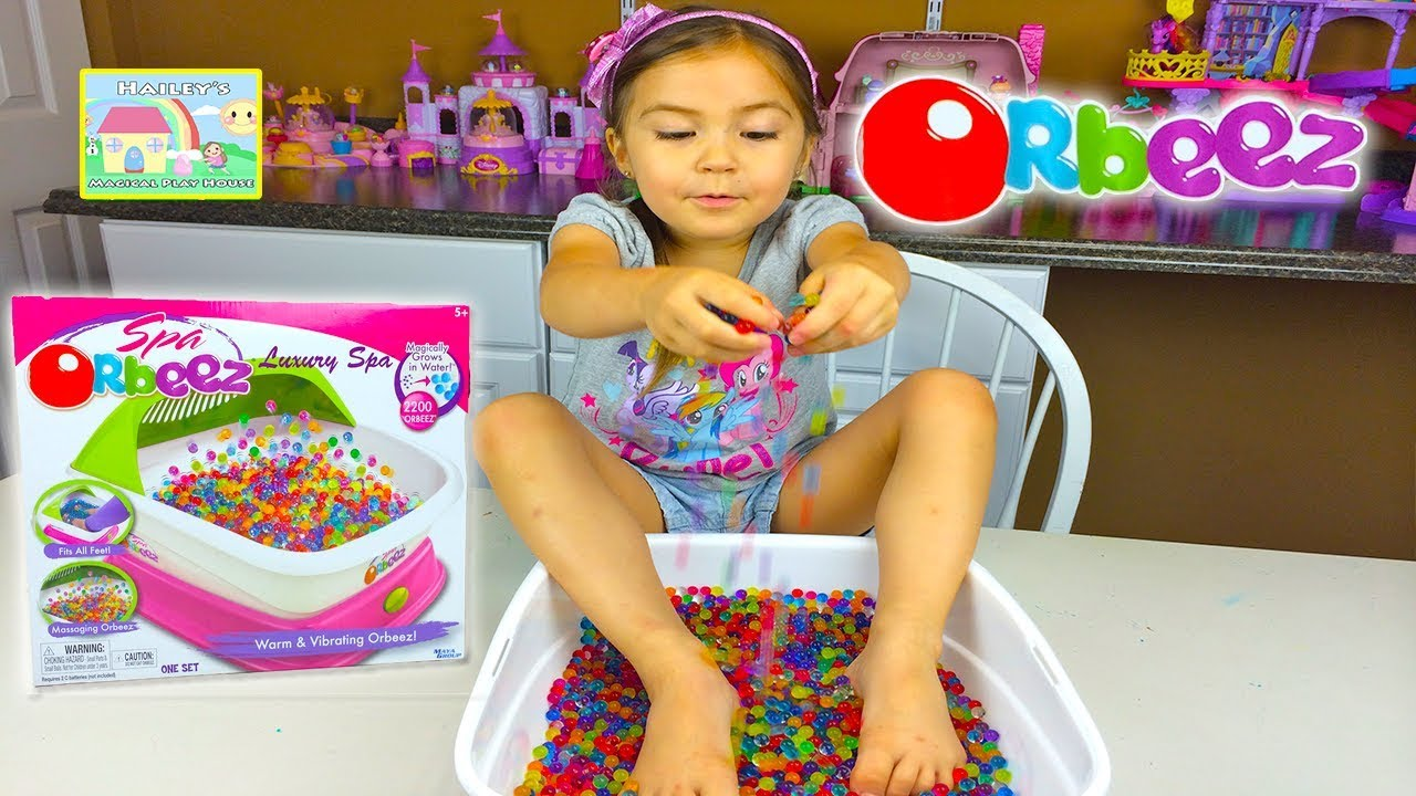 Orbeez Luxury Spa 2,200 Magic Orbeez Magically Grow in ...