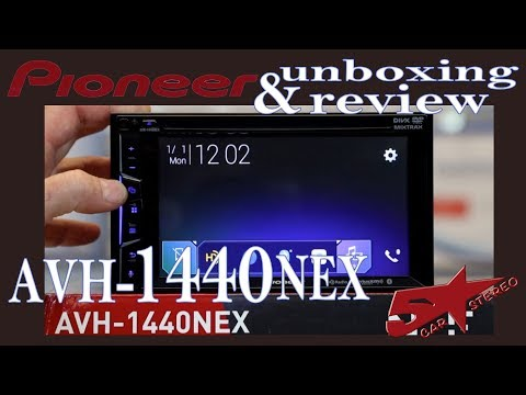 Pioneer's AVH 1440NEX unboxing and how to