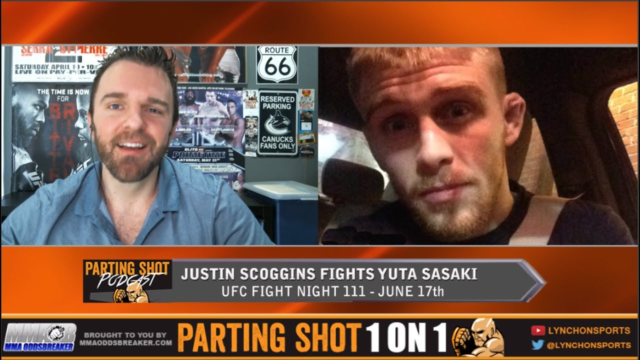 "UFC Fight Night 111's Justin Scoggins ""I'm going to pick Yuta Sasaki apart from all angles"""