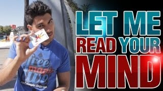 Free Magic Tricks: Amazing Mindreading Trick - Let Me Read Your Mind!
