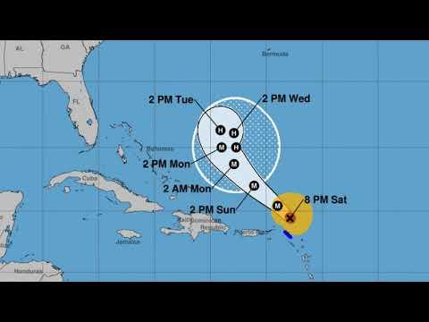 Latest on Hurricane Jose (September 10, 01:00 UTC)