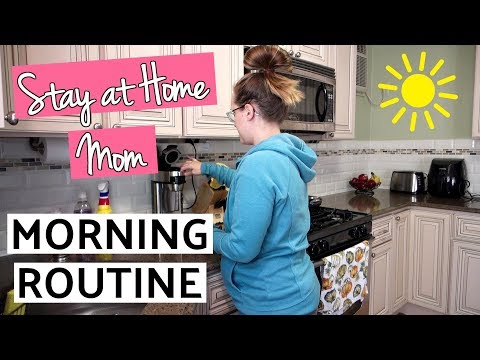 Stay at Home Mom Morning Routine // Pregnant Edition // Fall 2018