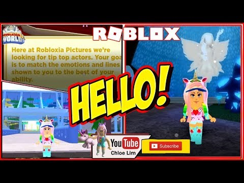 Chloe Tuber Roblox Robloxia World Gameplay Trying Out Classes