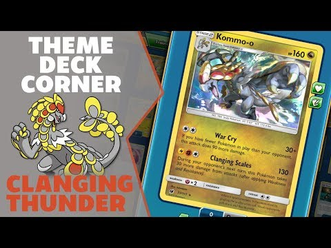 Clanging Thunder- Theme Deck Corner Ep 66- Pokemon Trading Card Game Online