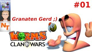 Lets Play - Worms Clan Wars #01 - Meine erste Partie Worms