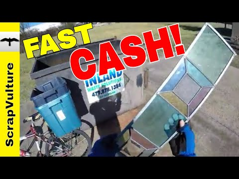 HOW TO put CASH in YOUR POCKET in HOURS!!! Make Fast Money Today Dumpster Diving & Scrap Metal