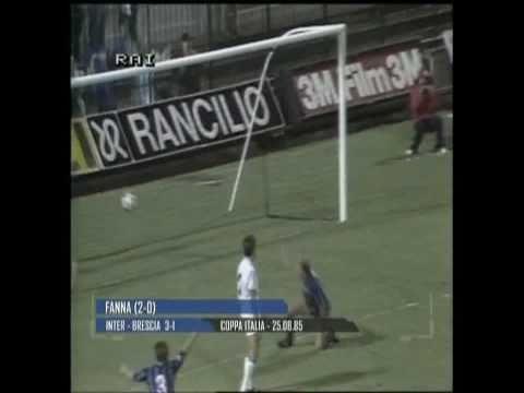 Stagione 1985/1986 - Inter vs. Brescia (3:1)
