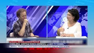 Consilierul Județean Rodica Andriescu, la NEst-TV Channel