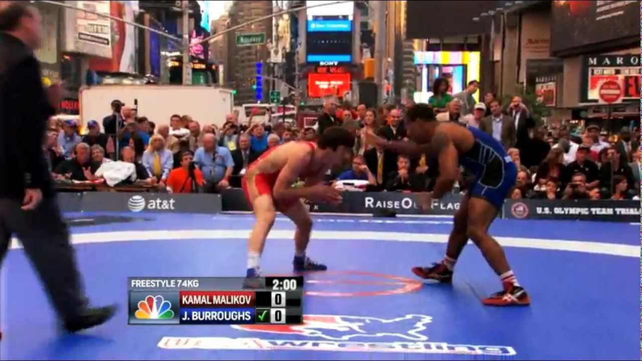 cf34525e4afe88 2012 Beat the Streets - 74KG - Jordan Burroughs (USA) vs Kamal Malikov  (RUS) - YouTube