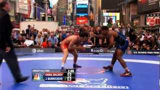 2012 Beat the Streets - 74KG - Jordan Burroughs (USA) vs Kamal Malikov (RUS)